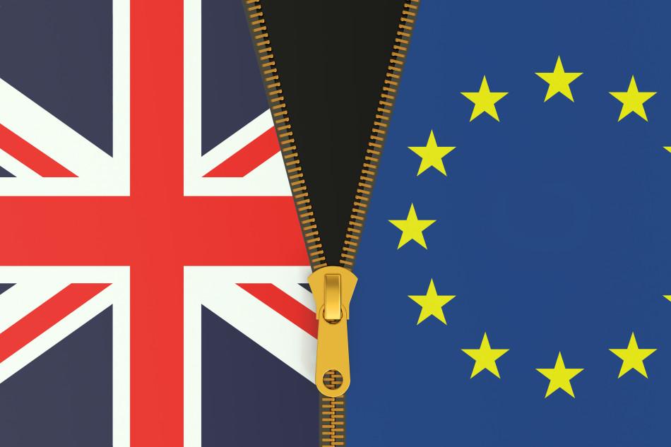 Great Britain and EU, Brexit referendum concept