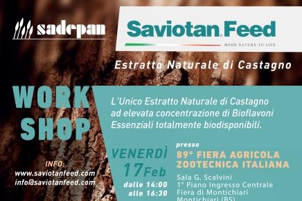 I tannini come integratori alimentari in zootecnia, workshop Saviola / LE RELAZIONI