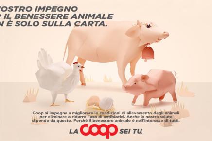 Coop Italia scommette sul benessere animale