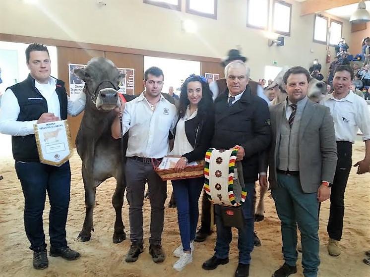 Premiazione Campionessa Bruina 2017