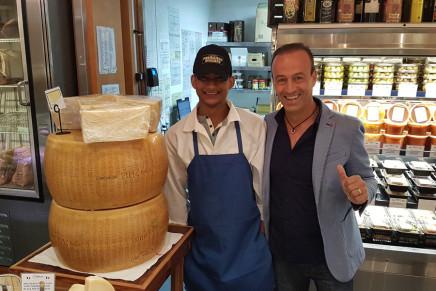 Parmigiano Reggiano all'attacco negli Usa con 1,2 milioni di investimenti