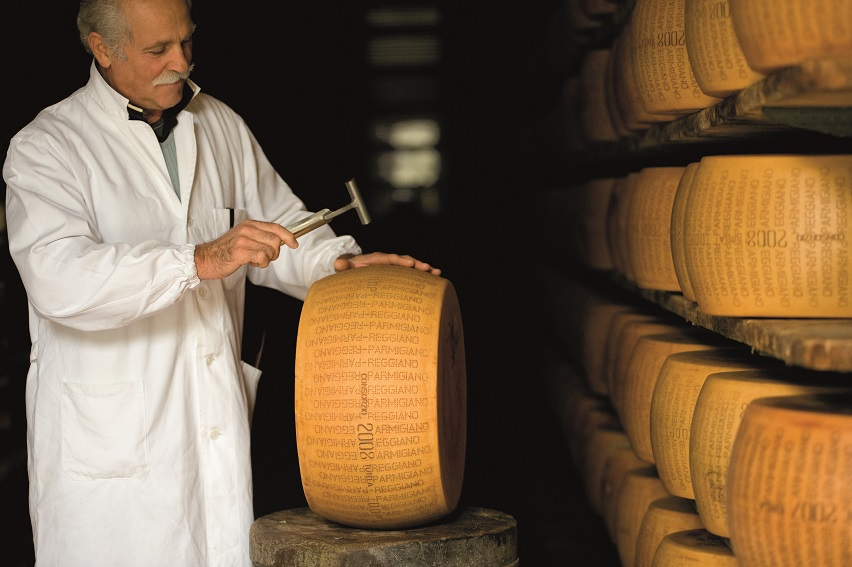 Parmigiano Reggiano esperto battitore CGu 209