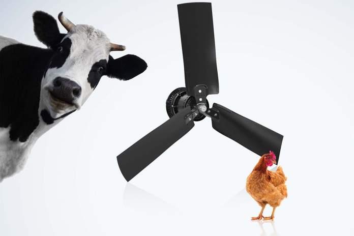 Ventilatori per allevamento